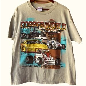 Vintage 2000 23rd Copper World Classic Hanes Shirt